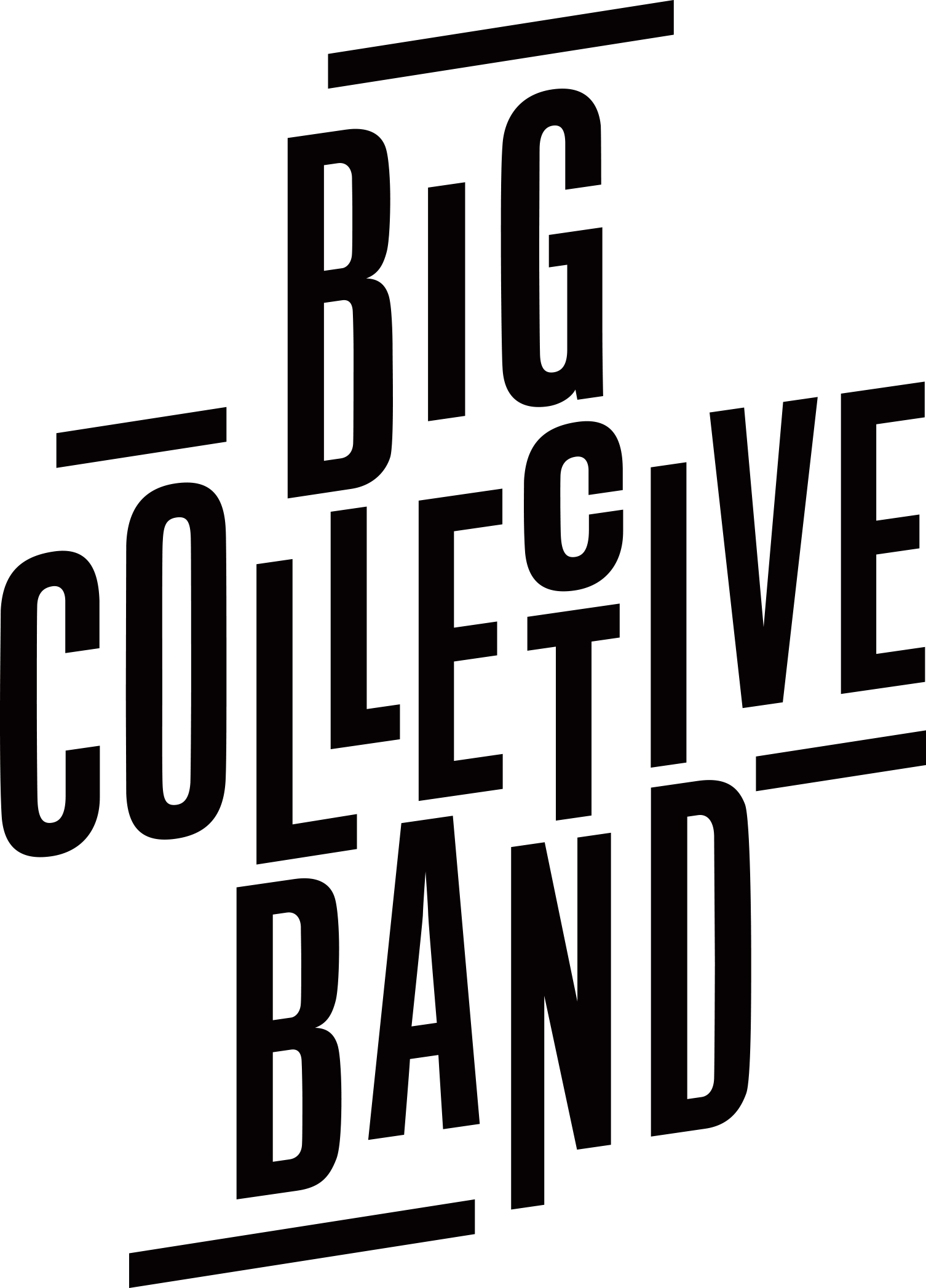 grafika. Logo Big Collective Band